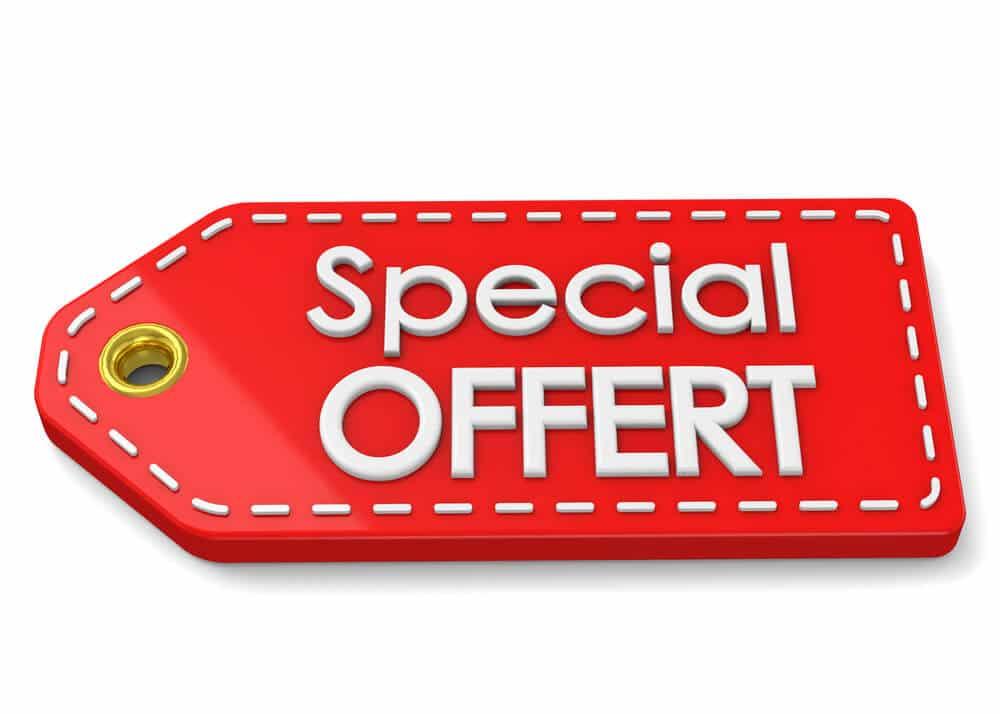 oferty specjalne - Promocje cenowe