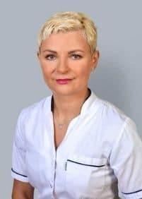 Specjalista Medycyny Estetycznej Bożena Januszewska, wykonująca zabieg botoksem w Gdyni
